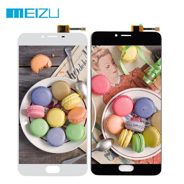 Для Meizu U20 ЖК-дисплей Дисплей Сенсорный экран планшета Ассамблеи/Рамки 5.5 ''Тесты для Meizu U 20 черный/белый
