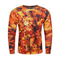 3D Leaves Hoodies Men Harajuku Sweatshirt Fashion Tracksuit Round Neck Streetwear Charater Loose 2017 hoody Skate Men