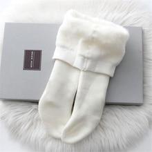 Очень теплые колготки для новорожденных; плотные штаны для маленьких мальчиков и девочек; эластичные бархатные колготки для малышей; детские носки