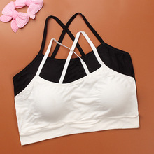 Soft Modal Bra for Young Teenage Girls Kid Harness Wireless Small Underwear Training Puberty Bras Children