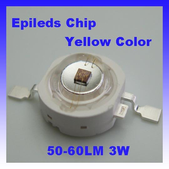 Диод Epileds 45mil 3 w 50lm/60lm,