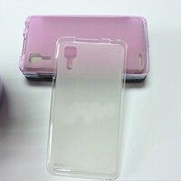Tomoral Case For Lenovo P780 P 780 Pink Blue Grey Cover Soft TPU Gel Matte Back Shell Defender