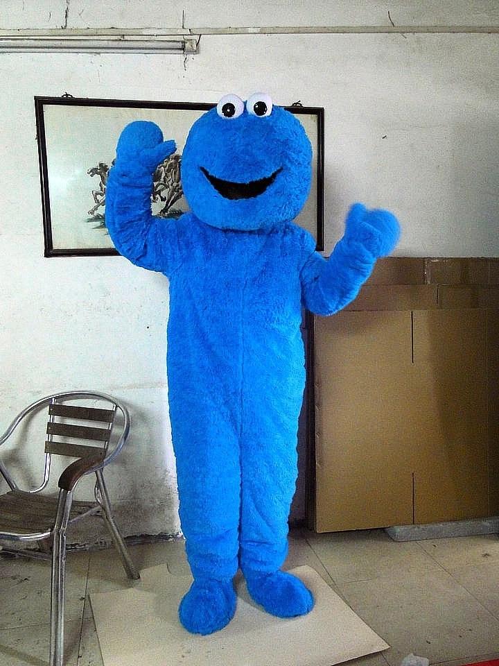 Cookie Monster Kostuem.Hot Sesame Street Cookie Monster Costume Mascot Costume Dress Suit Free Shipping Costume Mascot Cookie Monster Costumesesame Street Cookie Monster Aliexpress