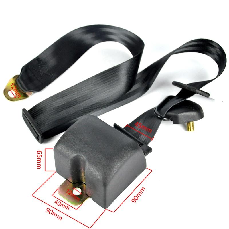 BORUiT Universal 3 Punkt Auto Sicherheitsgurt Gurtband - Auto-Innenausstattung und Zubehör - Foto 4