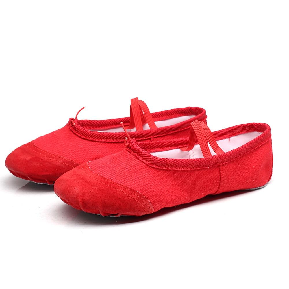 Zapatos de baile para niños Zapatos de ballet para niñas Gimnasia para adultos Yoga Kungfu Zapatos Zapatos de garra de gato
