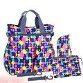 2016 новый разноцветные dot материнства мать мумия подгузник сумки многофункциональный коляски сумки плечо сумка пеленки младенца мешок