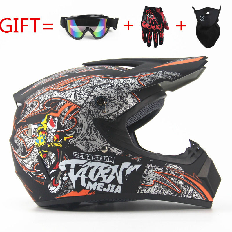 NEW Off Road motorcycle Adult motocross Helmet ATV Dirt bike Downhill MTB DH racing helmet cross Helmet capacetes DOT moto