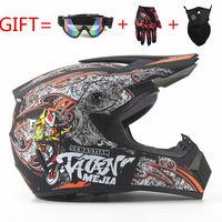 ABS Rmotorcycle Off Road Helmet Classic Bicycle MTB DH Racing ATV Helmet Motocross Downhill Bike Helmet