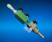 One component glue adhensive precision spray dispensing valve