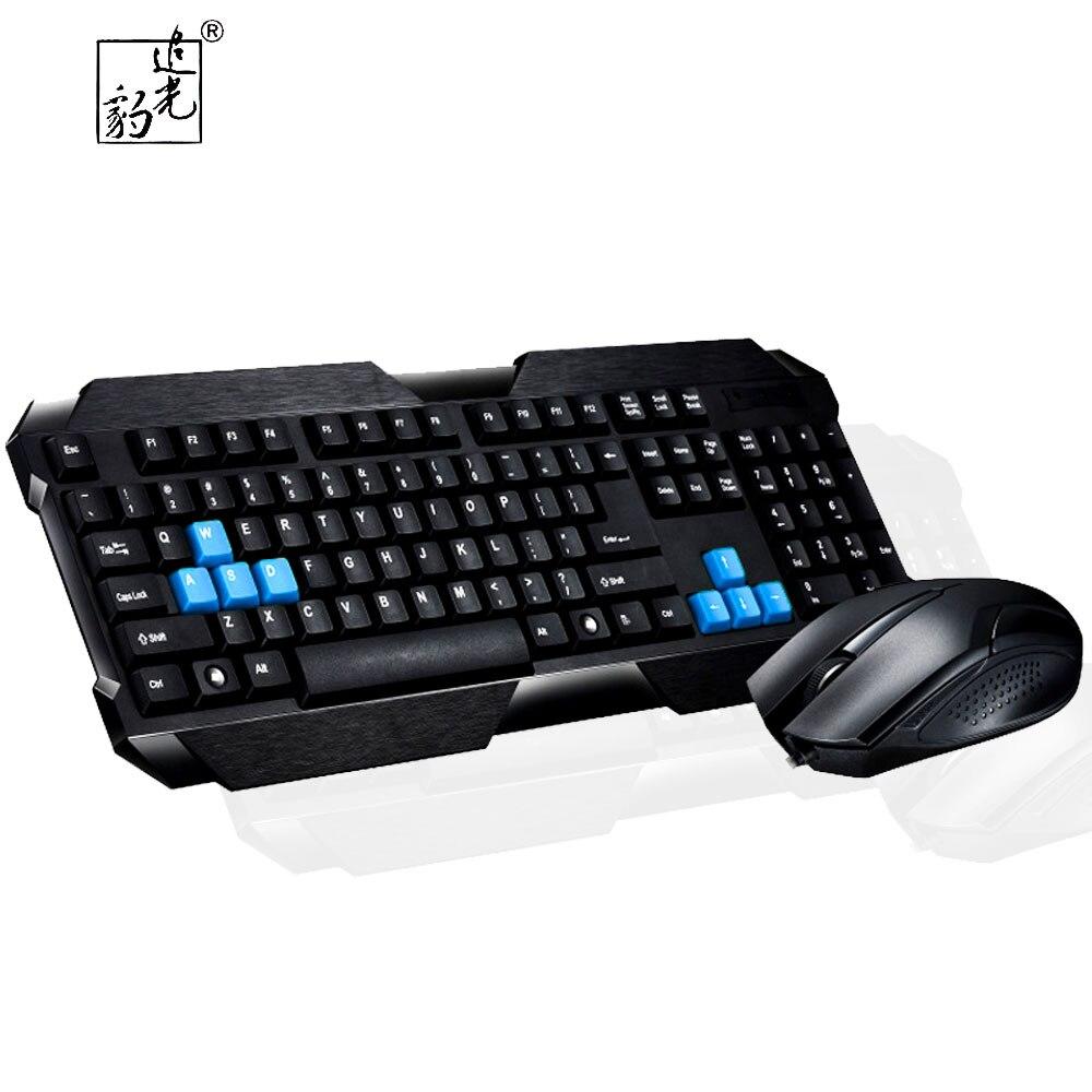 ZGB q19up игровой офис проводной Комплекты клавиатура-мышь Гибкая 1800 Точек на дюйм Механическая Feel лазерная клавиатура Мышь набор для ПК Тетрад... ...