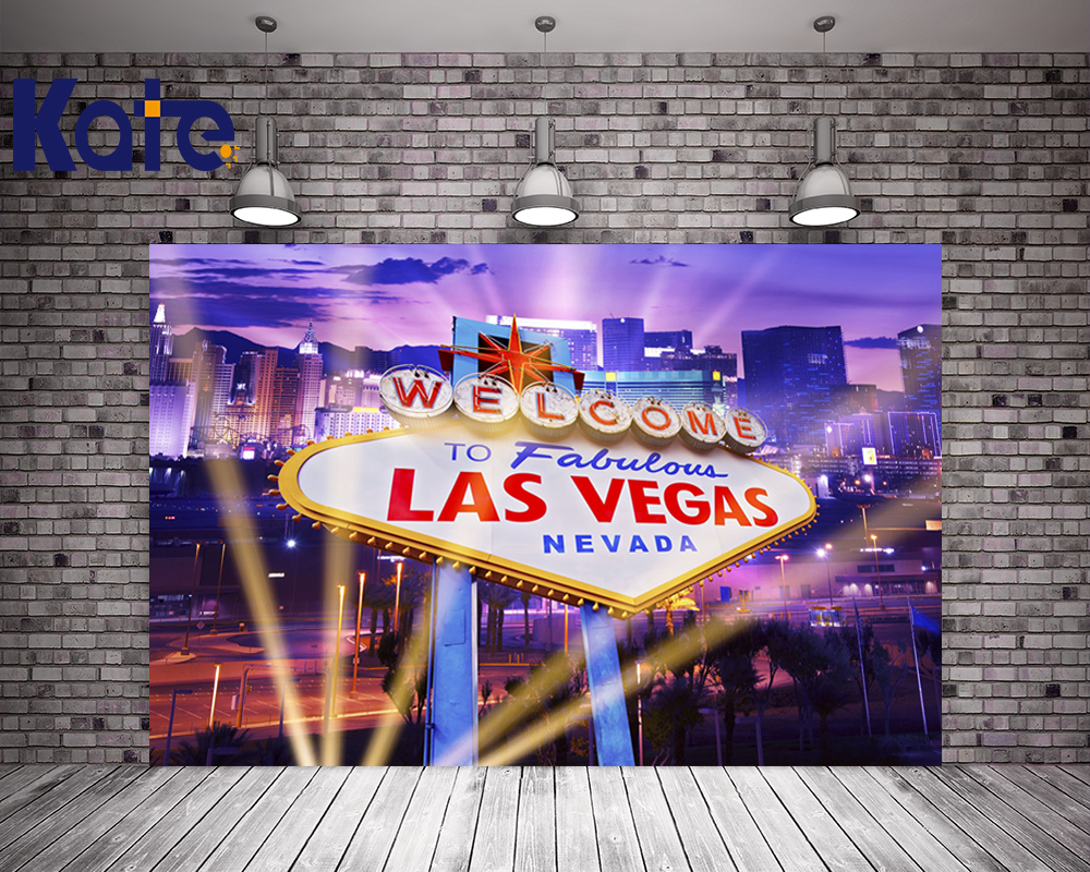Kate 10x10ft Las Vegas City Photography Backdrops Casino Party Backgrounds For Photo Studio Light Cotton Washable Photocall