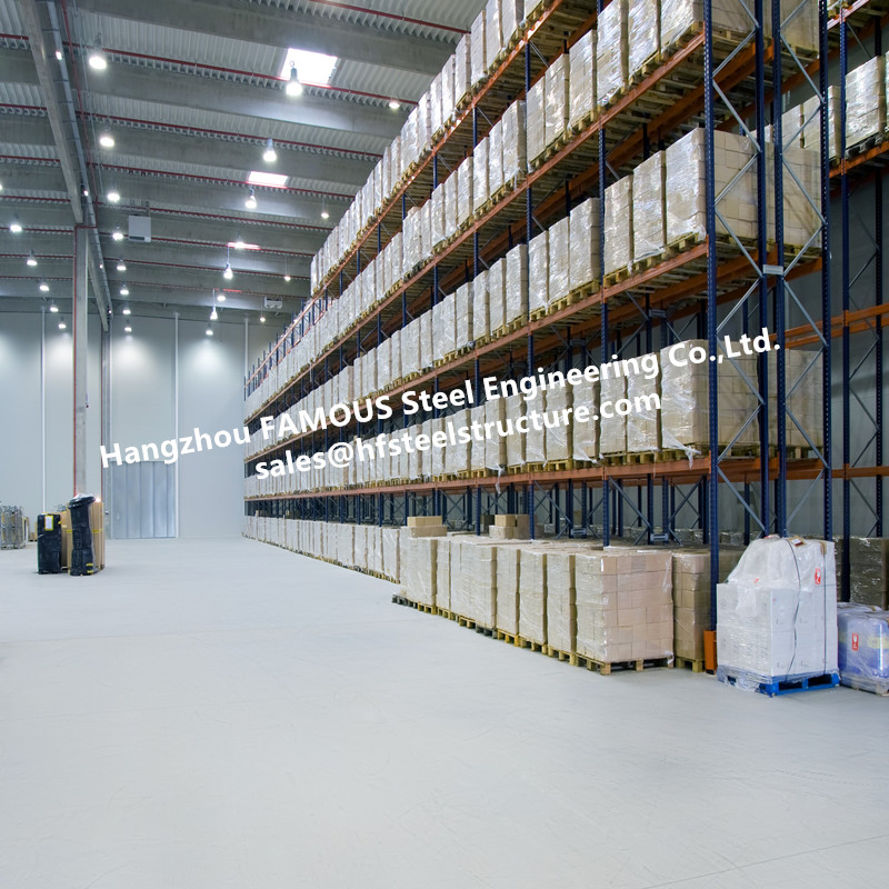 Large Volume Temperature Controlled Cold Storage For Integrated Logistics Distribution Center
