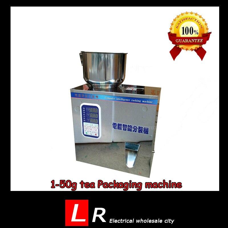 1-50g Tea Packaging Filling Machine Granule Medlar Automatic Weighing Powder Filler Machine