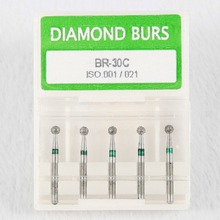 40BOX/ 200PCS Dental Diamond Burs Bur Fit High Speed Handpiece Medium FG 1.6MM