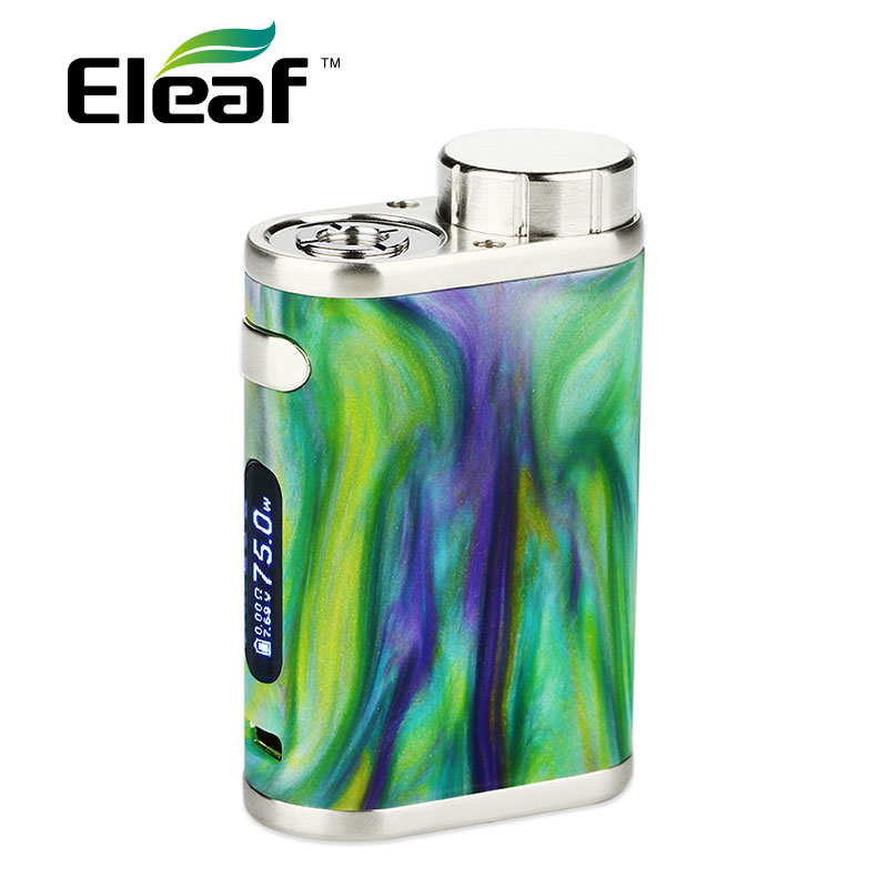 Original Eleaf iStick Pico RESIN Box Mod 75W for Melo 3 Mini Tank 2ml Atomizer 75W Pico Resin Mod 510 Thread E Cig Random Color купить в Москве 2019