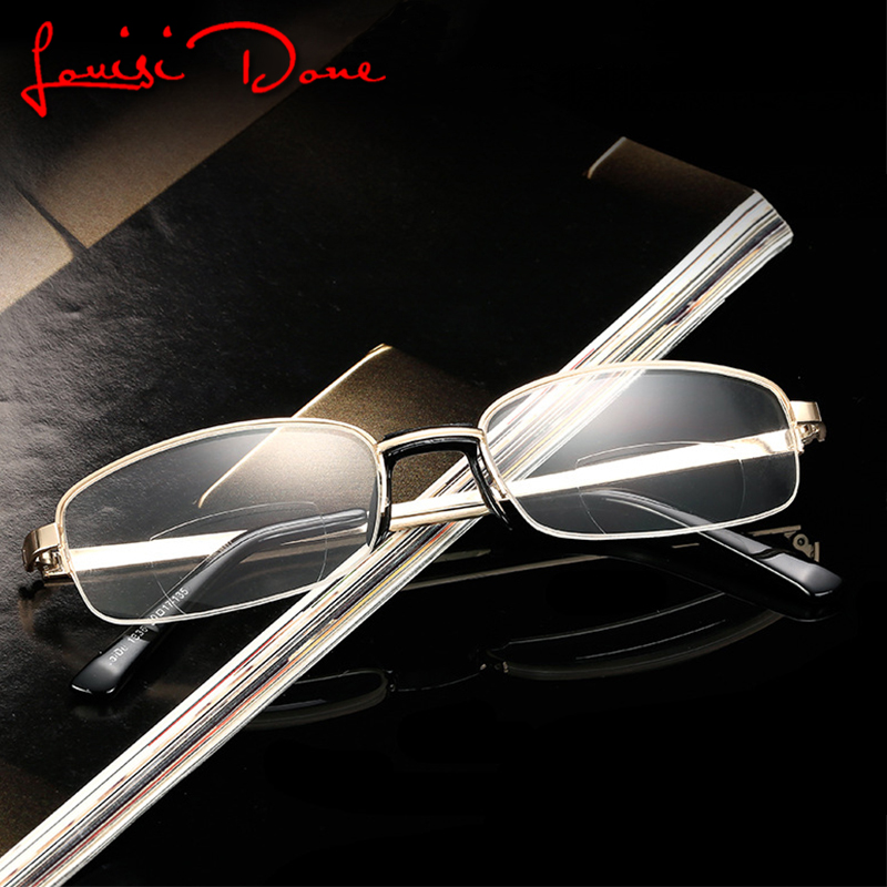 Women's Reading Glasses Women's Glasses Unisex Folding Reading Glasses Magnifier Metal Frame Adjust Flexible Legs Presbyopic Eye Glasses Old Man Spectacles With Box L3