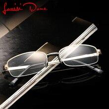 5fa1bb2740 LouisiDone Reading Glasses Old Men Women Transparent Frame presbyopic  Folding