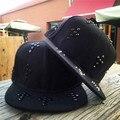 Novos homens cap rebite harajuku snapback ajustável caps hip hop mens chance o rapper kanye west skate chapéu ossos masculino