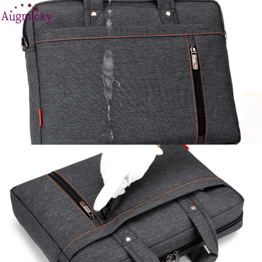 Image 5 - 2018 Big size computer bags Cases Shockproof airbag waterproof  Handbag luxury thick Notebook bag 12 13 14 15 15.6 17 17.3 inchLaptop  Bags