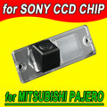 For Sony CCD chip Mitsubishi Pajero Zinger Southeast Lingyue car rear view camera back  reverse  parking camera NTSC Waterproof