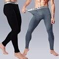 2015 мужские брюки теплая зима кальсоны плюс бархат хлопок модальный утолщение серебро край Леггинсы бесплатная доставка