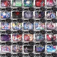 Anime One Piece/Sailor Moon/hatsune miku/Naruto/Totoro/Eva etc impermeable aslant/crossbody /messenger/escuela/bolsa de hombro/Satchel