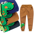 2017 spring  kids clothing boys girls Sport Pants cotton Cartoon dinosaur trousers baby pants Harem Long Trousers  high quality