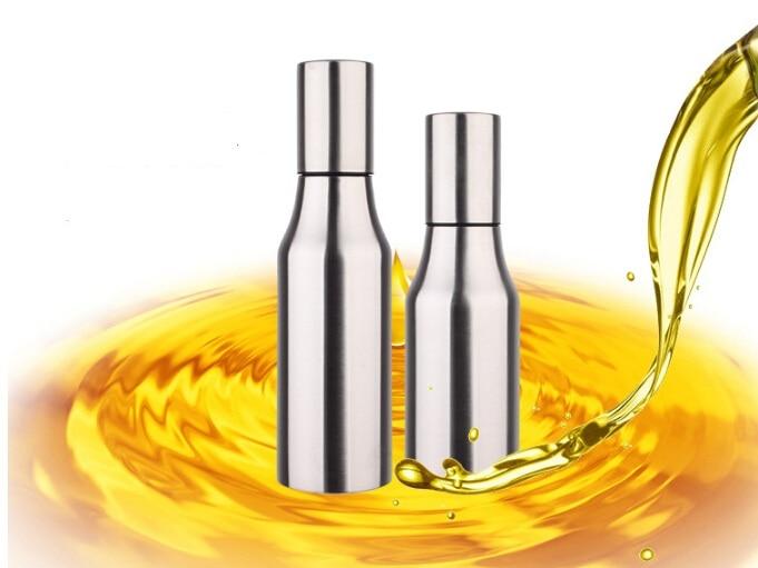1PC 500ML z nerezové oceli olivový olejový rozprašovač láhev s rozprašovačem oleje rozprašovač hrnec vaření pečená olejová láhev nástroje olejová výpusť J1451