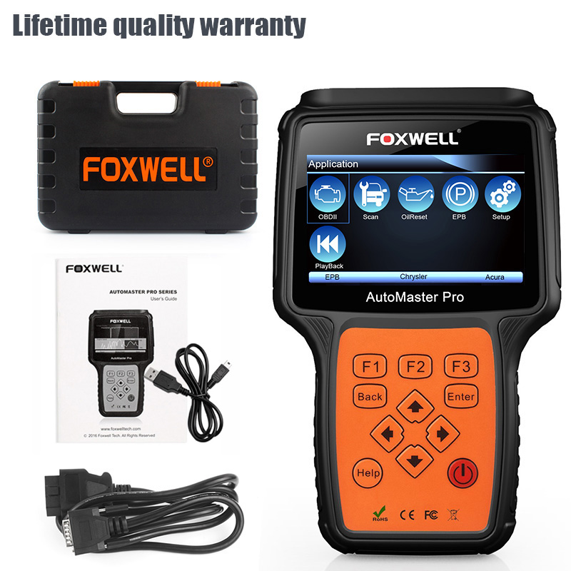 Details about FOXWELL NT644 ALL SYSTEMS UNIVERSAL DIAGNOSTIC SCAN TOOL ABS  SRS AIRBAG SCANNER