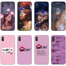 Thank U, Next Ariana Grande Soft TPU silicone phone Cover Case For iPhone 11 Pro MAX 2019 SE 5 5S 6 6S 7 8Plus XR XS X10
