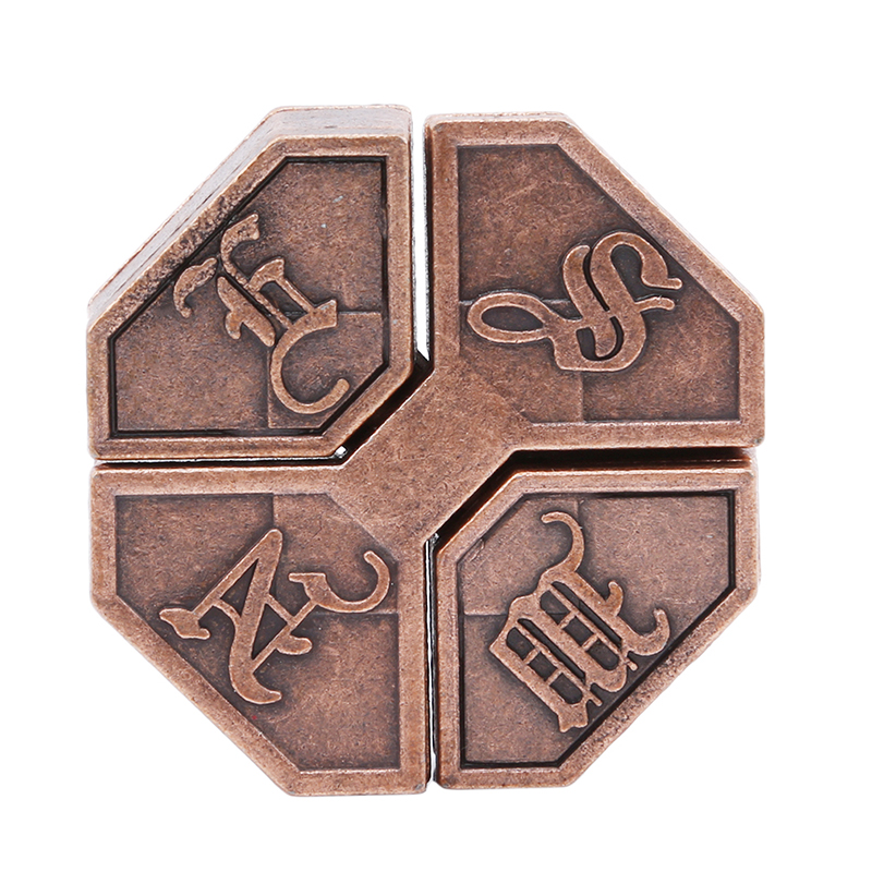 1Pc Alloy Box Lock Puzzle Classic Metal Brain Teaser Intelligence & EQ Test Toys For School Classroom Adults Children Kids Gifts