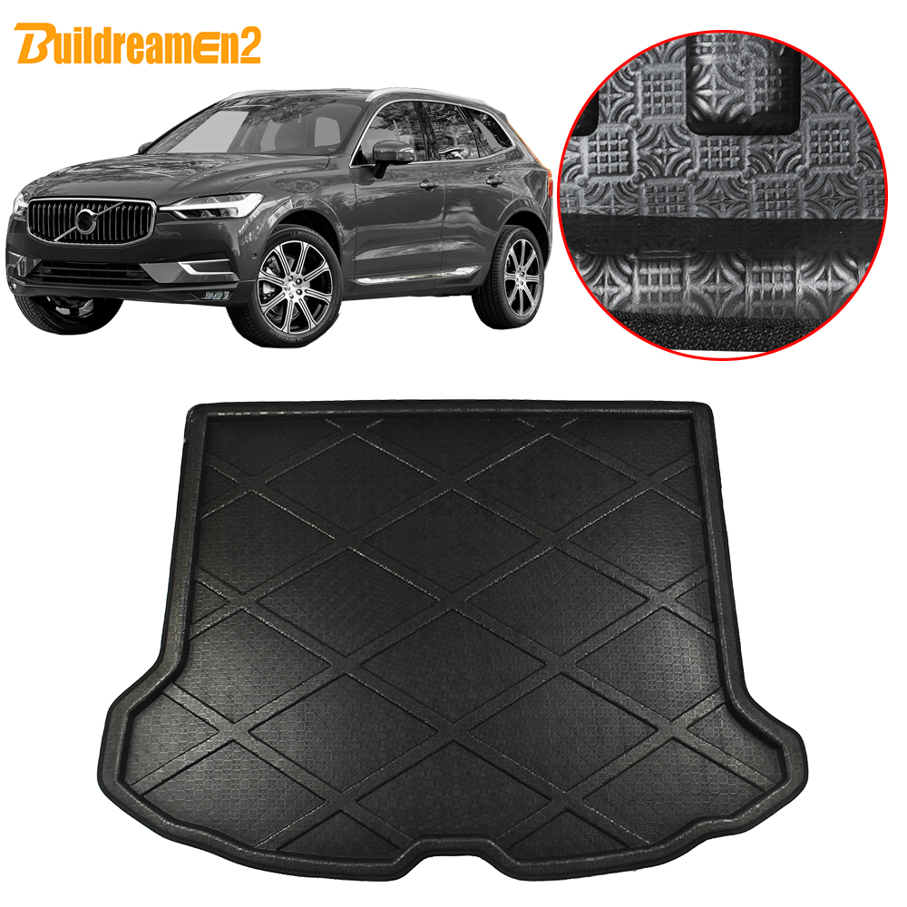 New Car Boot Mat Carpet Cargo Mat Cargo Liner Cargo Cover Rear Trunk Liner Tray Floor Mat for Volvo XC60 2009 2010 2011 2012 2013 2014 2015 2016 2017 2018 2019