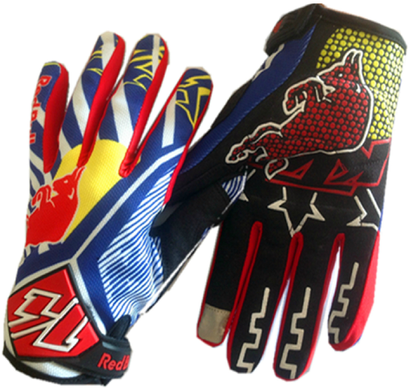KTM bicycle gloves motorbike motorcross ATV Offroad red color M,L,XL size - Rillpac Store store