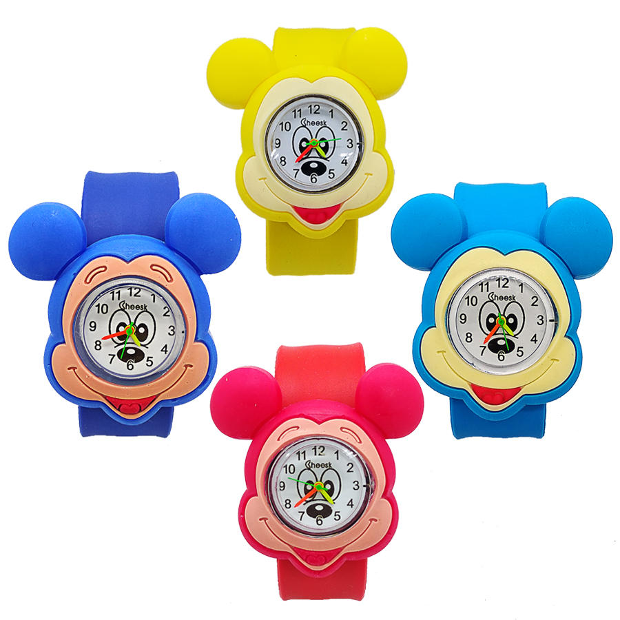 Creative 3 Styles Children Candy Watch Lovely Chicken High Quality Girls Boys Quartz Watches Birthday Xmas Gift For Kids Clock