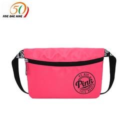 Weekend Travel waist pack bag beach bag Pink WATERPROOF VS spring break fit bag card holder fanny pack bags for women 2018