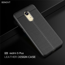 For Cover Xiaomi Redmi 5 Plus Case Shockproof PU Leather Shell Case For Xiaomi Redmi 5 Plus Cover For Xiaomi Redmi 5 Plus BSNOVT asling drop proof protective cover case for xiaomi redmi 5