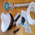 cell phone 3G signal booster  2100mhz 3G signal repeater ,WCDMA 3g signal amplifier +yagi antenna