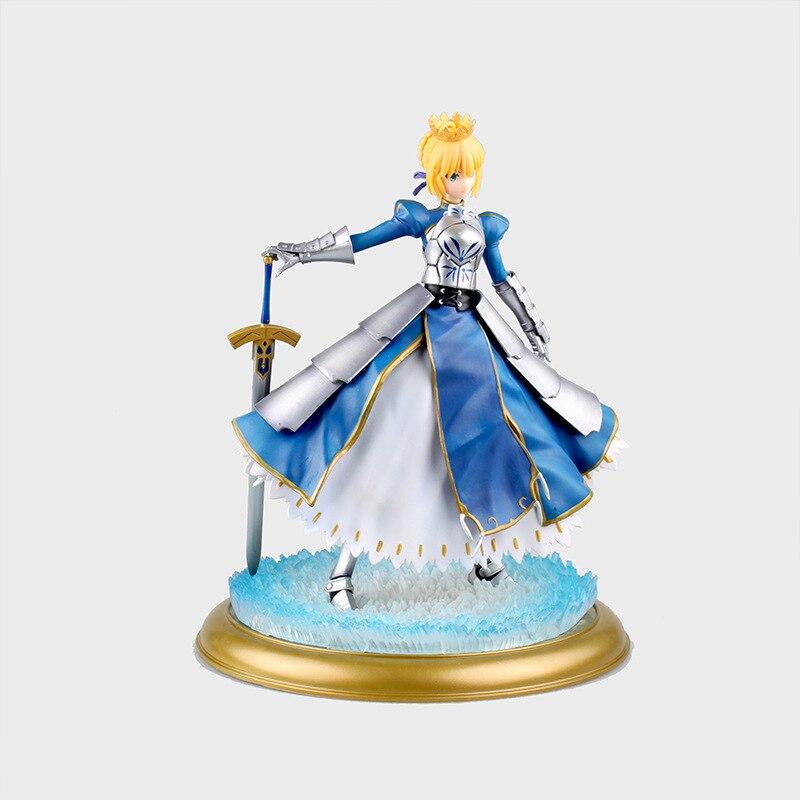 Destin rester nuit sabre Action Figure 1/6 échelle peint figure lumière hiver robe Deluxe Ver. Figurine en PVC Altria Pendragon sabre