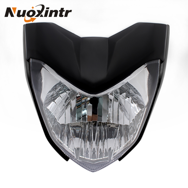 Nuoxintr course phare moteur phare phare lumière LED moto Motocross accessoires pour Yamaha FZ16