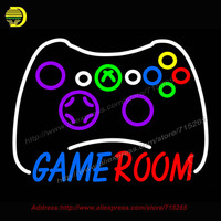 Game Room Bộ Điều Khiển Xbox Neon Đăng Bất Bóng Đèn Neon Thủ Công giải trí Room Bar Pub Tường Mang Tính Biểu Tượng ánh sáng Dấu Hiệu Neon ánh sáng 18x24