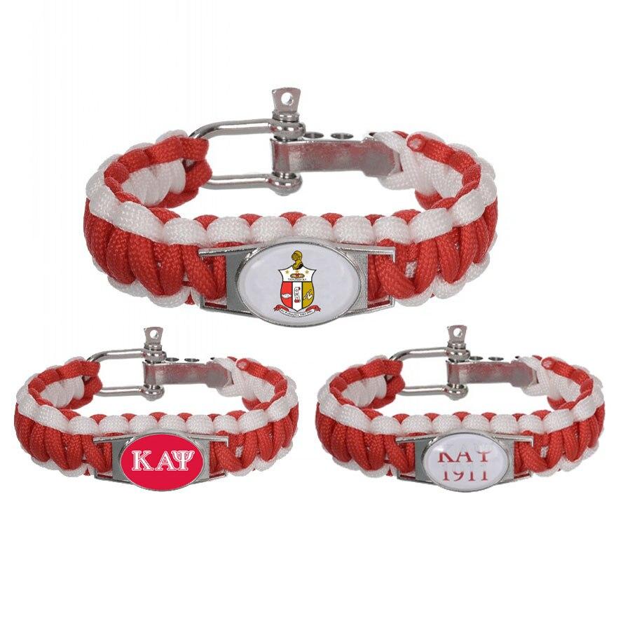 Kappa Alpha Psi Fraternity Survival Bracelet