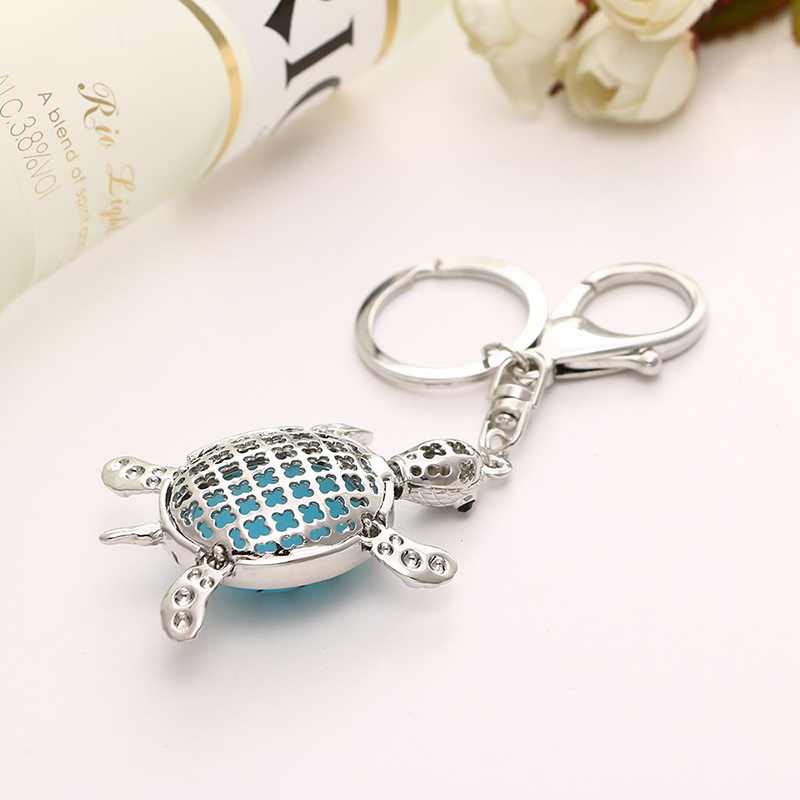 Novel crystal rhinestone turtle key chain holder car wallet bag novel crystal rhinestone turtle key chain holder car wallet bag pendant clasp yks049 fashion in key chains from jewelry accessories on aliexpress aloadofball Gallery