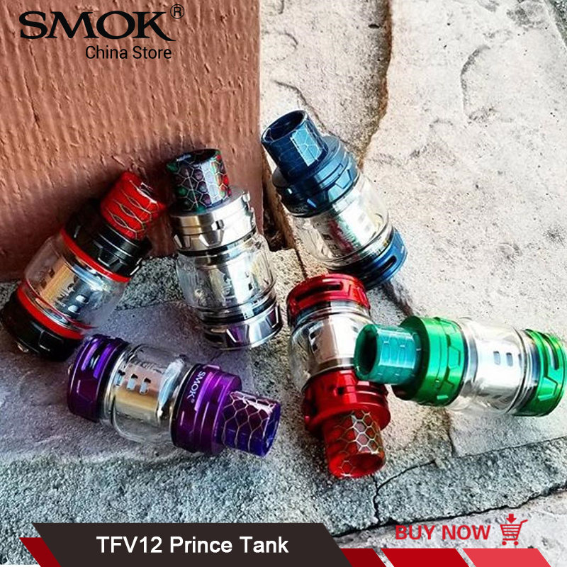 Original SMOK TFV12 Prince Tank 8ml Vaporizer V12 Prince Q4 X6 T10 Coil Fit For G-Priv 2 MAG Mod Electronic Cigarette Atomizer 10oz stainless steel 110v 220v electric commercial popcorn machine with temperature control