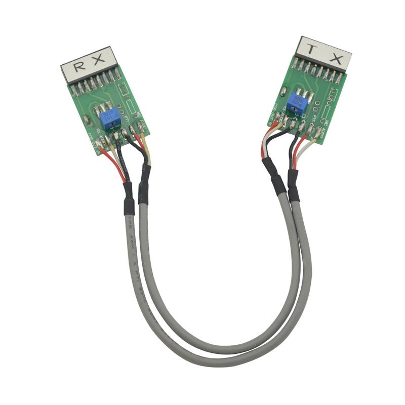 (TX-RX Bidirection) câble de connecteur de répéteur de Station de relais Radio pour Motorola GM300 GM338 GM3188 GM3688 GM950I GM950E SM120