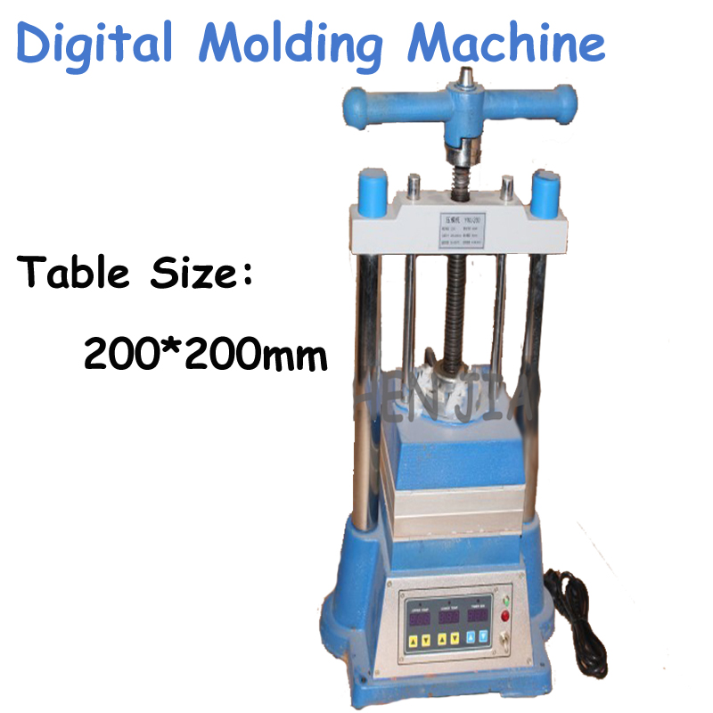 1pc Digital Molding Machine Gold and Silver Copper Jewelry Plastic Mold Heating and Melting Molding Jewelry Casting Machine