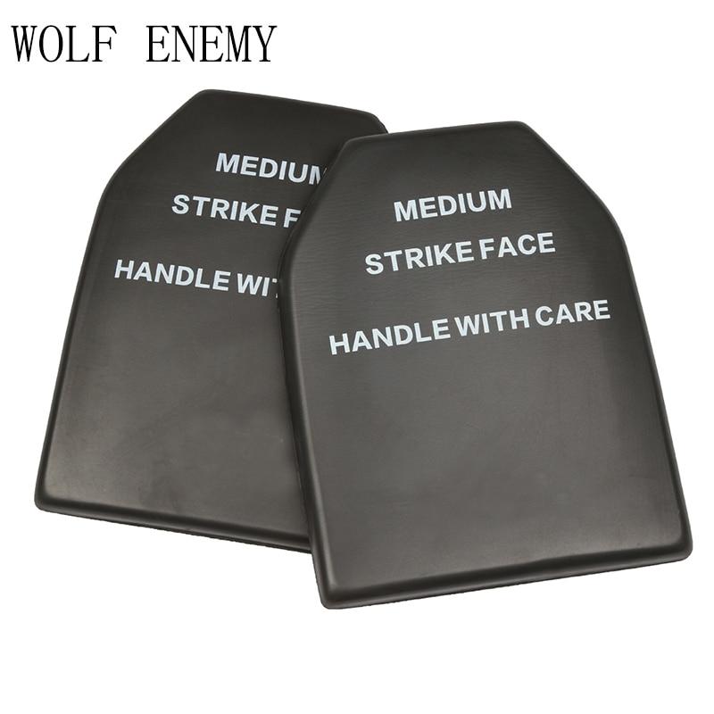 Tactical Gear Vest Baffer Protective Pad Outdoor Paintball Ballistic EVA Dummy Board Shock Resistant
