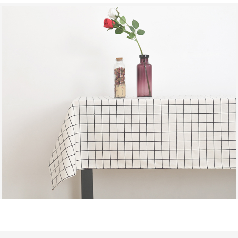 Pastoral Tablecloths мақта мата зығырдан - Үй тоқыма - фото 1