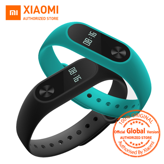Global Version Xiaomi Mi Band 2 miband 2 Smartband OLED display touchpad heart rate monitor Bluetooth 4.0 fitness tracker