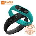 Global versión xiaomi mi banda 2 miband 2 smartband touchpad pantalla oled pulsómetro bluetooth 4.0 rastreador de ejercicios