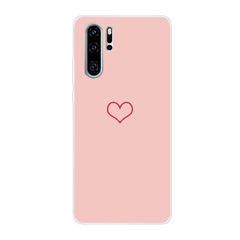 Funda de teléfono para Huawei P30 Pro P20 Lite P Smart 2019 Funda para Huawei Psmart p20lite p30pro Y5 y6 Primer Caso 2018
